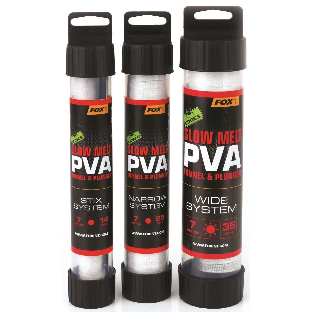 PVA ръкав с тъпкачка Fox Edges PVA Mesh System Slow Melt