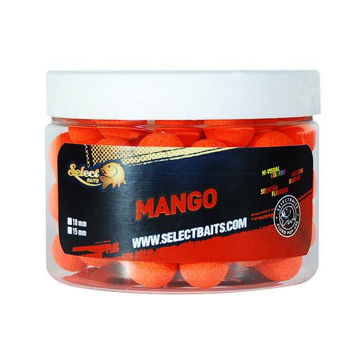 Select Baits Fluoro Orange Mango Pop-up - плуващи топчета