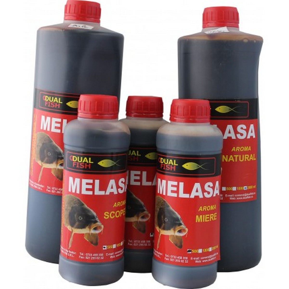 Меласа DualFish 500ml