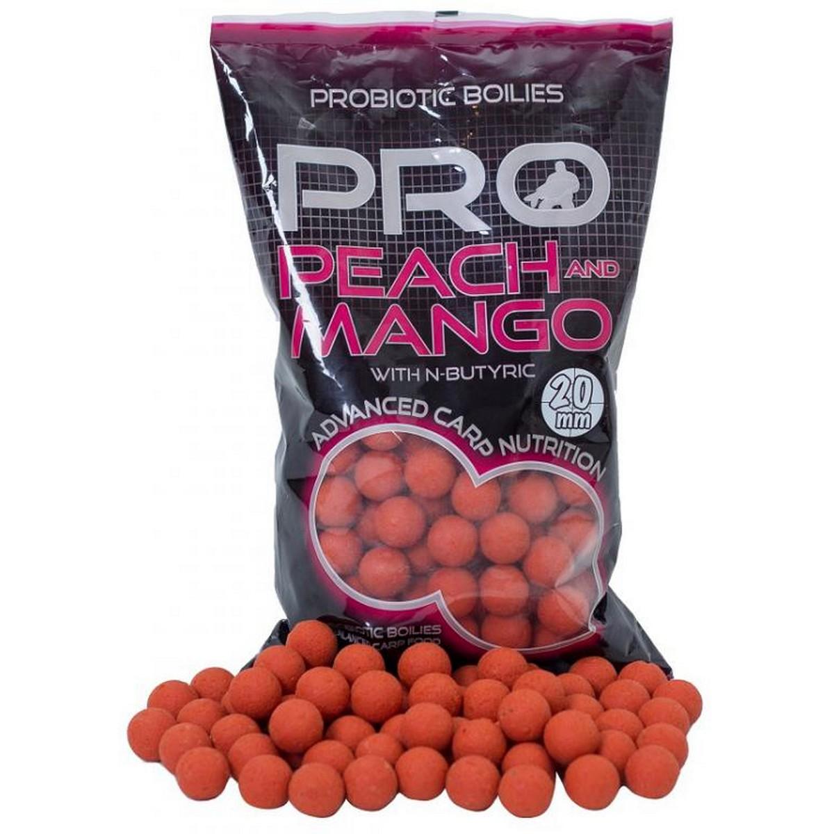 Протеинови топчета Starbaits Probiotic Peach and Mango