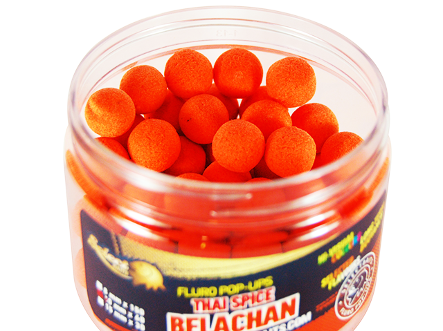 Select Baits Fluoro Orange Belachan Thai Spice Pop-up - плуващи топчета