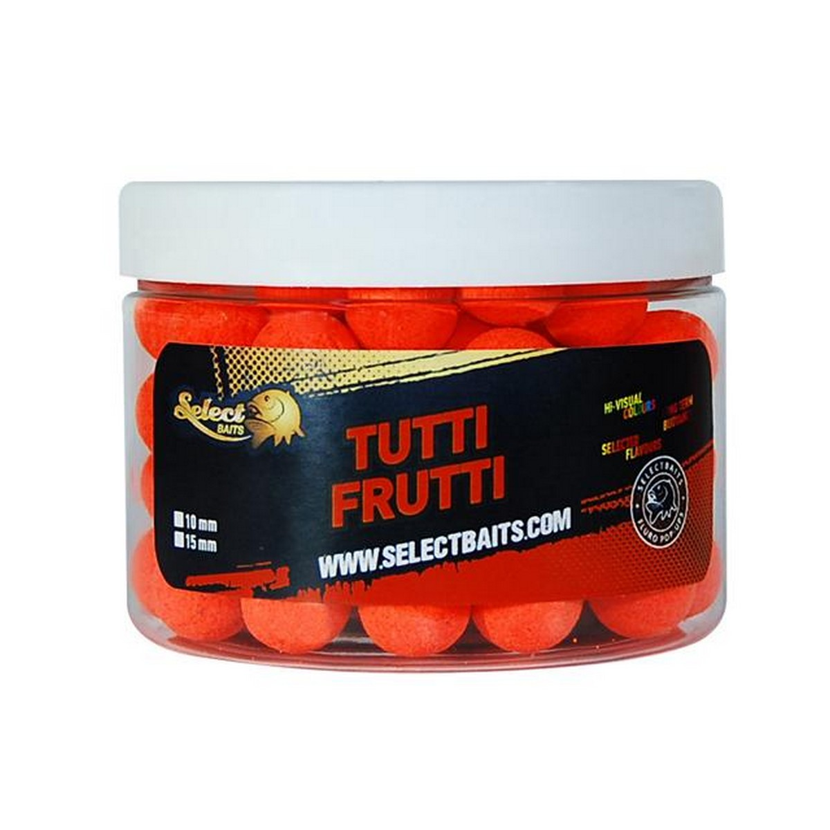 Select Baits Fluoro Orange Tutti Frutti Pop-up – плуващи топчета