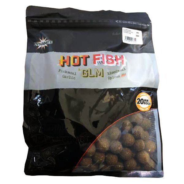 Топчета Dynamite Baits Hot Fish & GLM Boilies