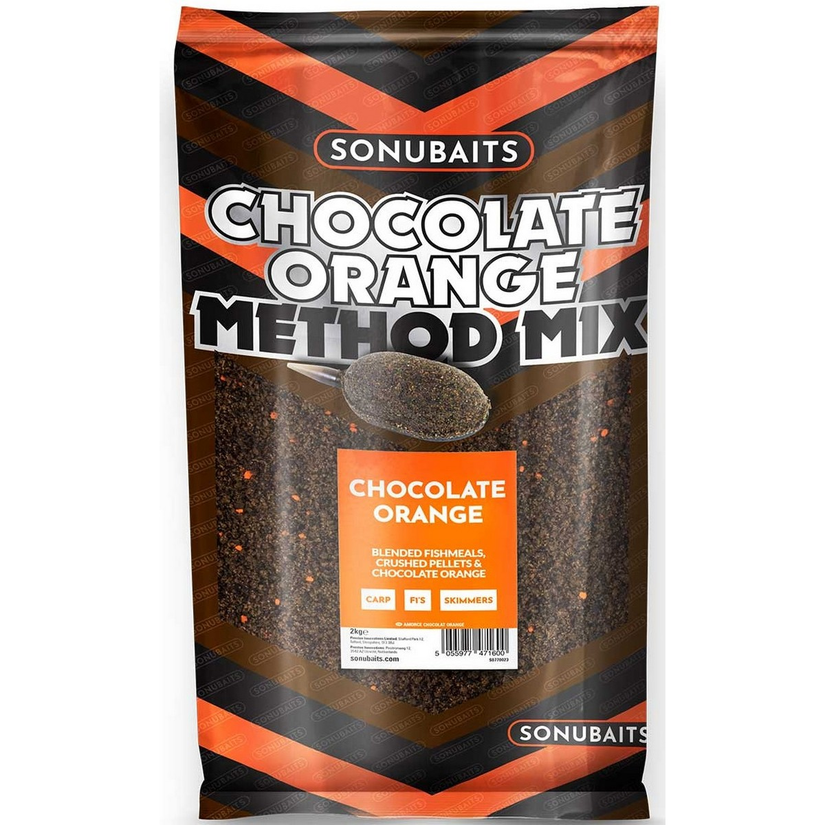 Sonubaits Chocolate Orange Method Mix Groundbait