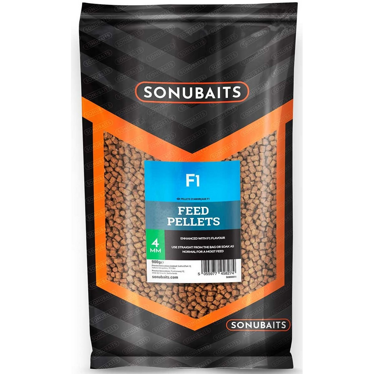 Пелети Sonubaits F1 Feed Pellets 4mm