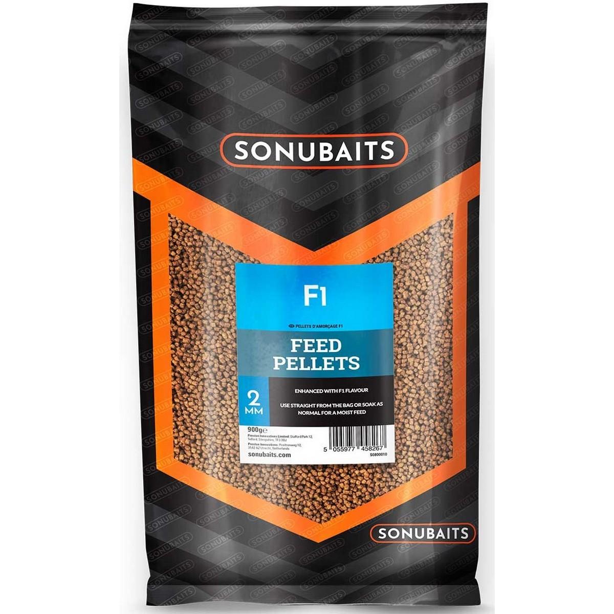 Пелети Sonubaits F1 Feed Pellets 2mm