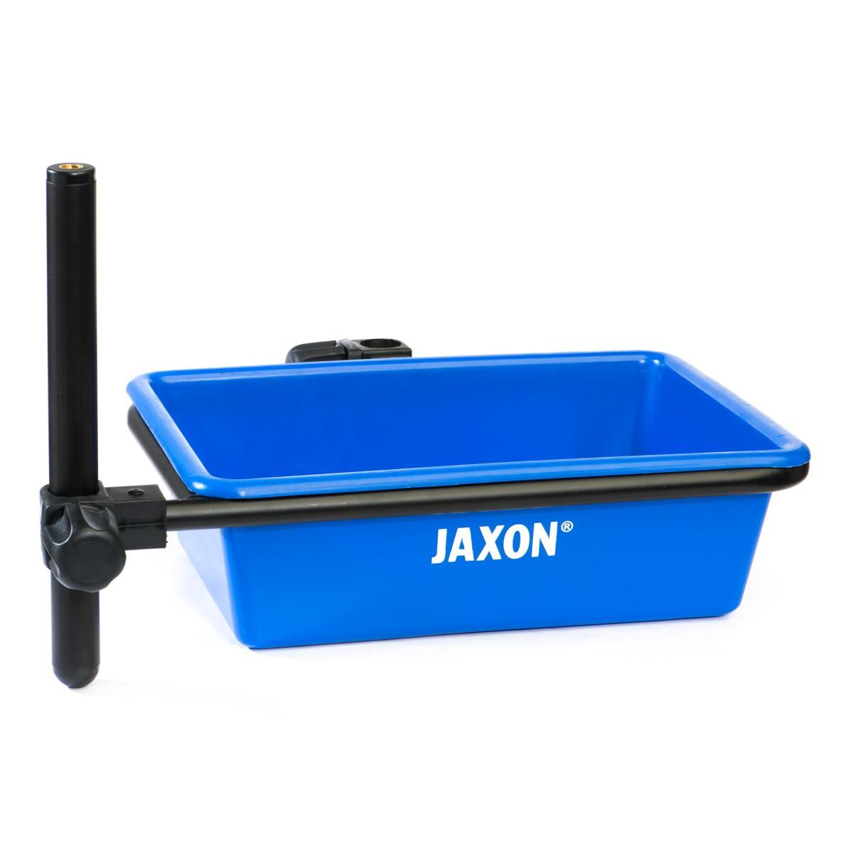Jaxon AK-KZE040B - прикачна за платформа правоъгълна вана+двоен държач
