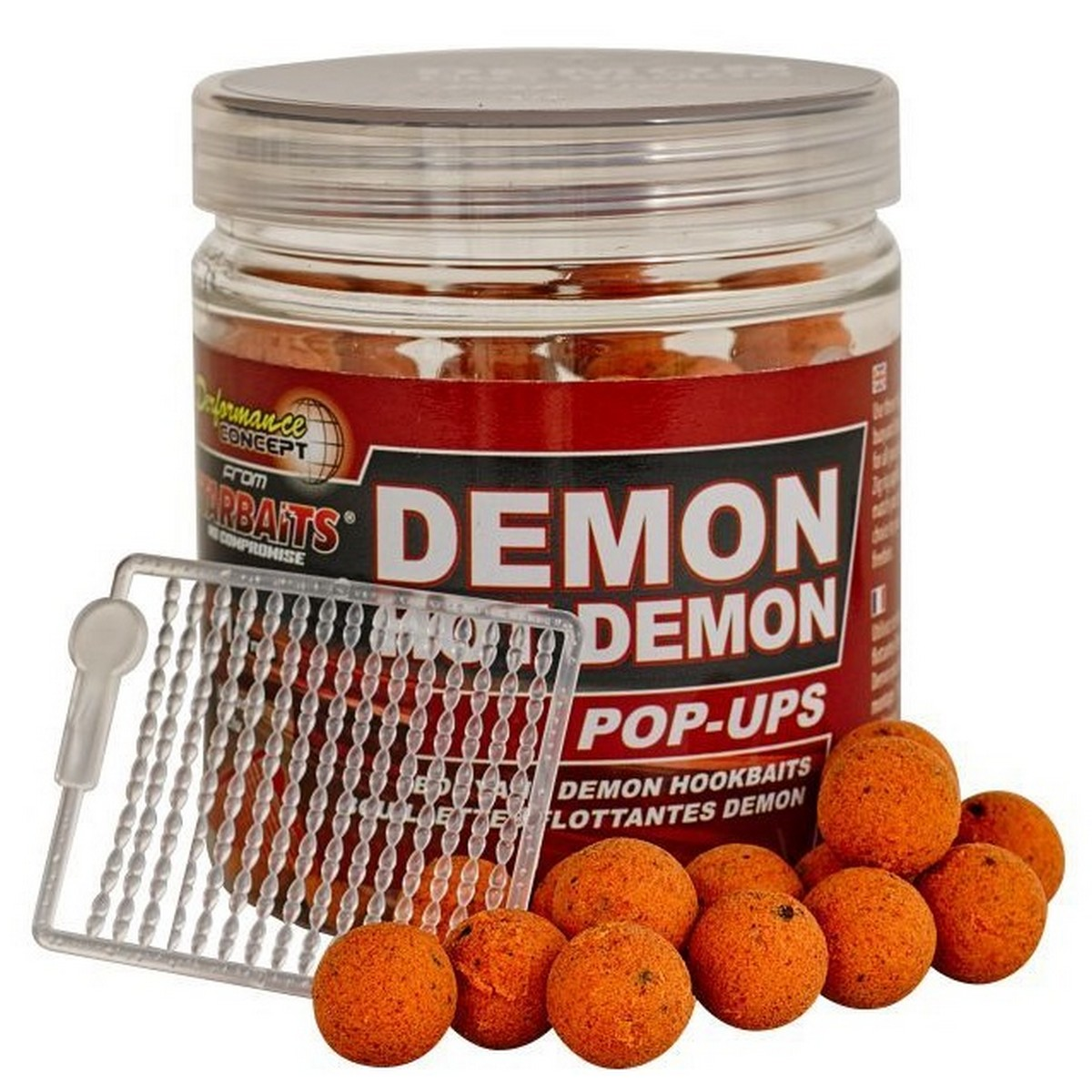 StarBaits Demon Hot Demon Pop Ups - плуващи топчета