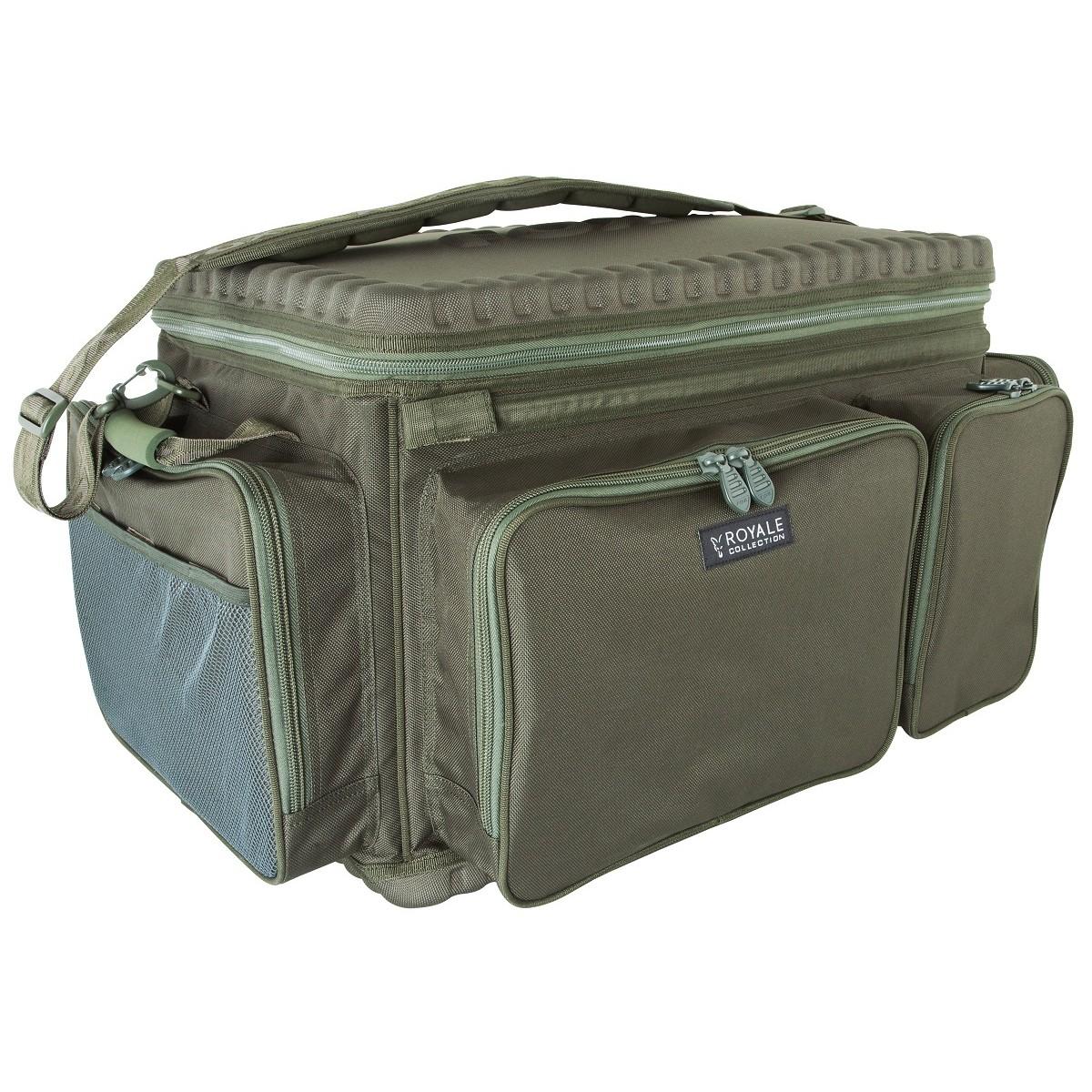 Сак рибарски с твърда основа и капак FOX Royale Barrow Bag XL