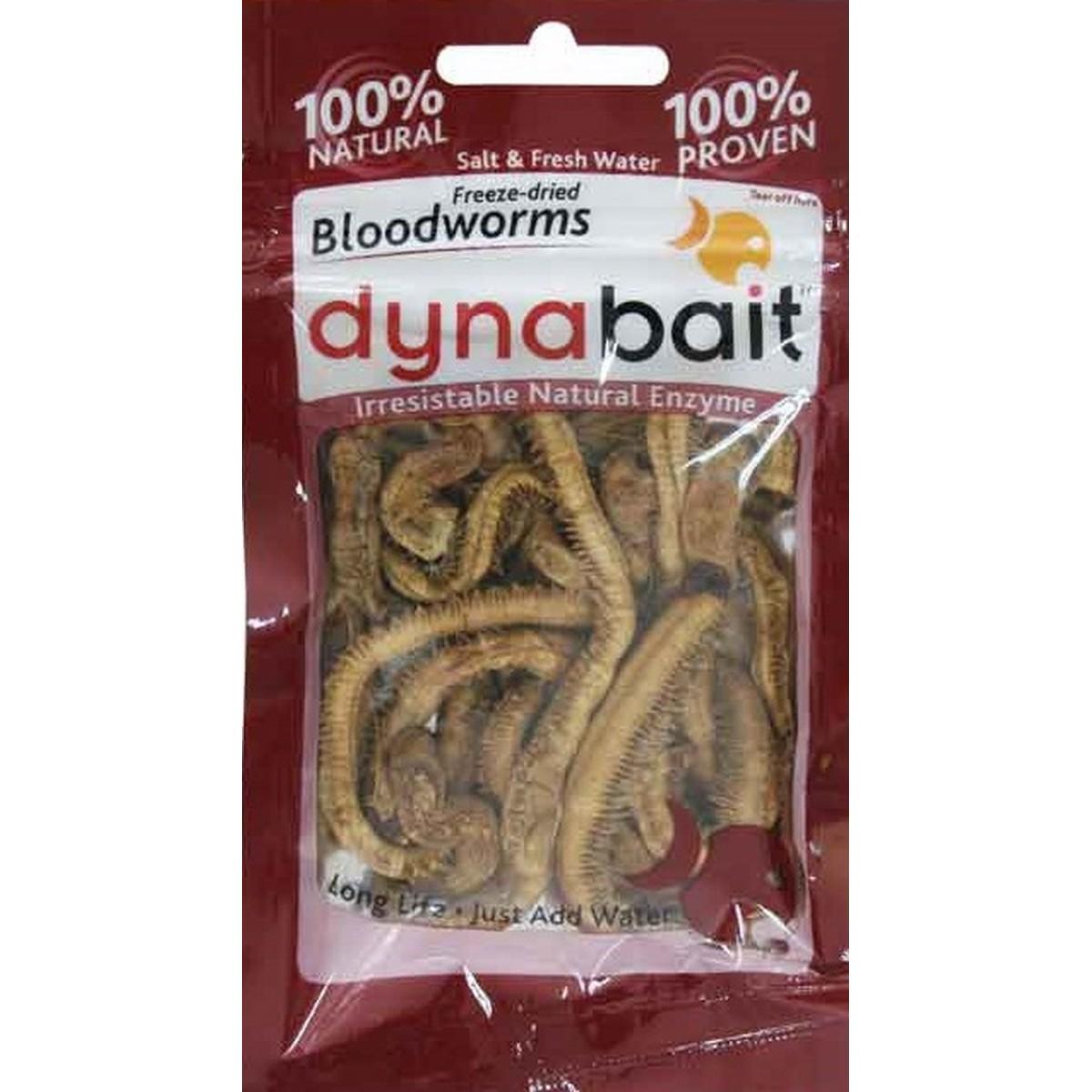 Dynabait Freeze Dried Blood Worms - изсушени морски червеи