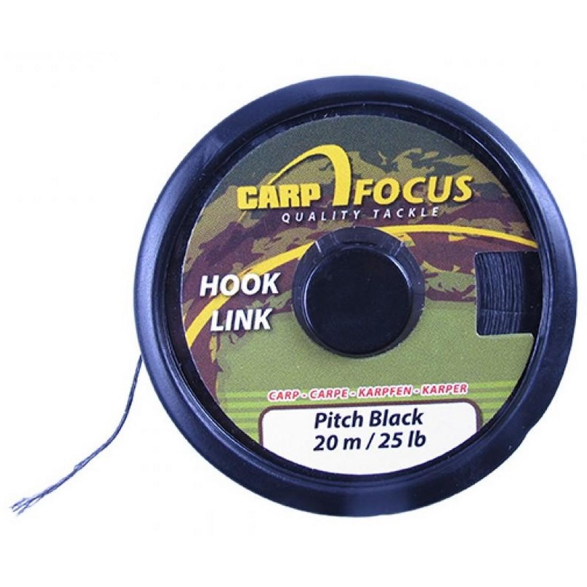 Плетено влакно Carp Focus Pitch Black