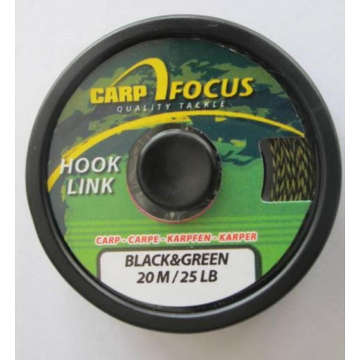 Плетено влакно Carp Focus Black & Green
