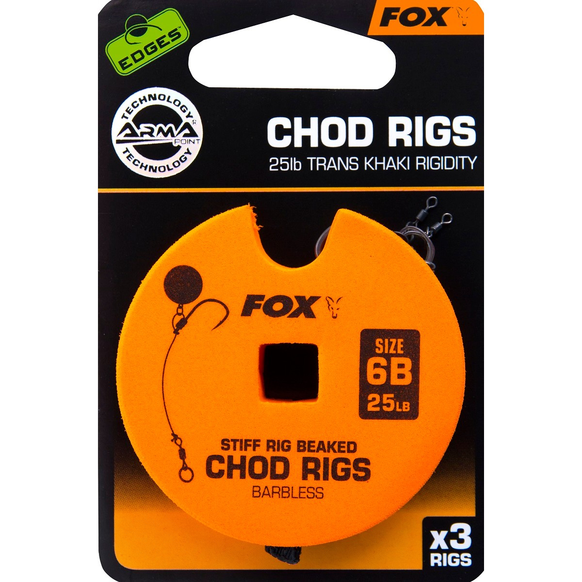 Монтаж Fox EDGES Chod Rigs Standard
