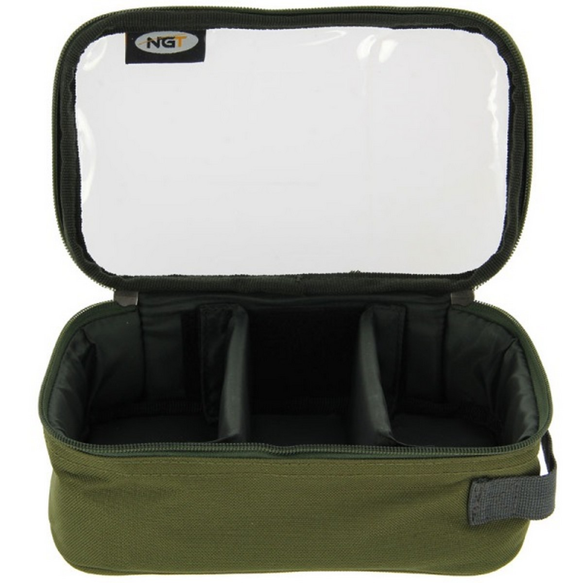 Чанта NGT 3 Way Clear Top Deluxe Lead Bag