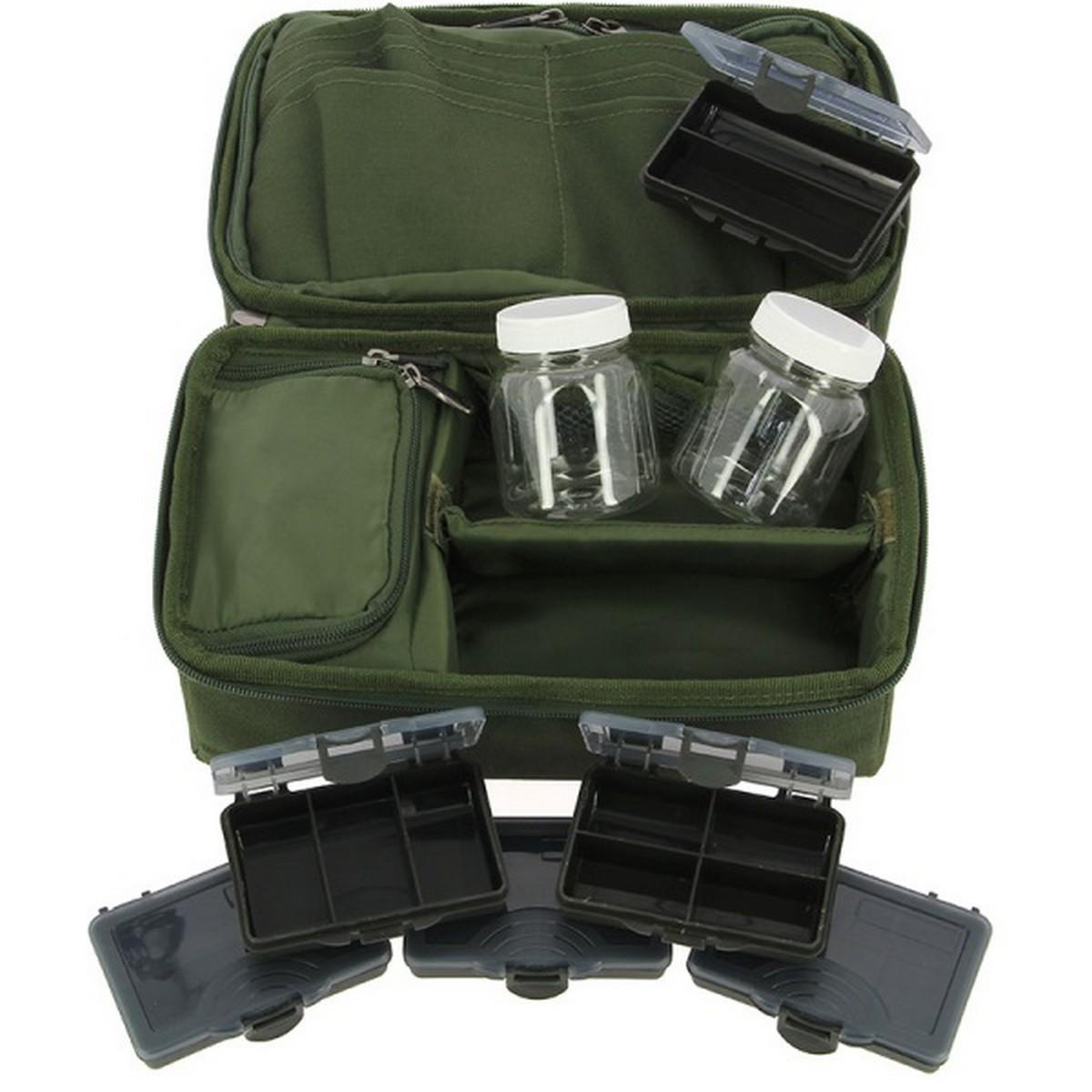 Чанта NGT Complete Rigid Carp Rig Pouch System