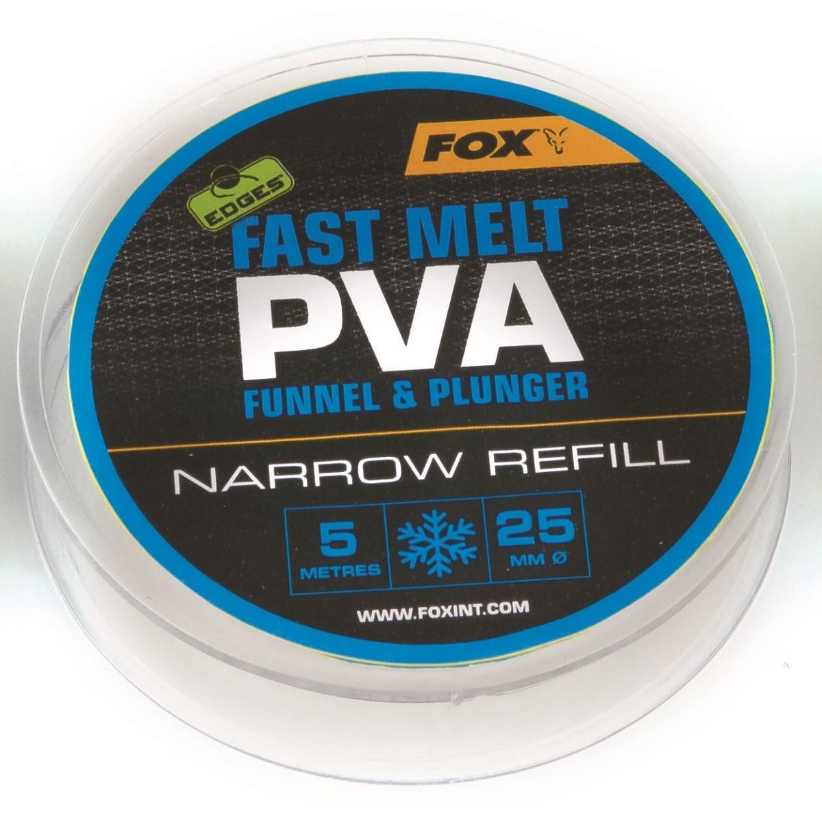 Fox Edges Fast Melt PVA Funnel & Plunger 25mm - PVA ръкав-ролка
