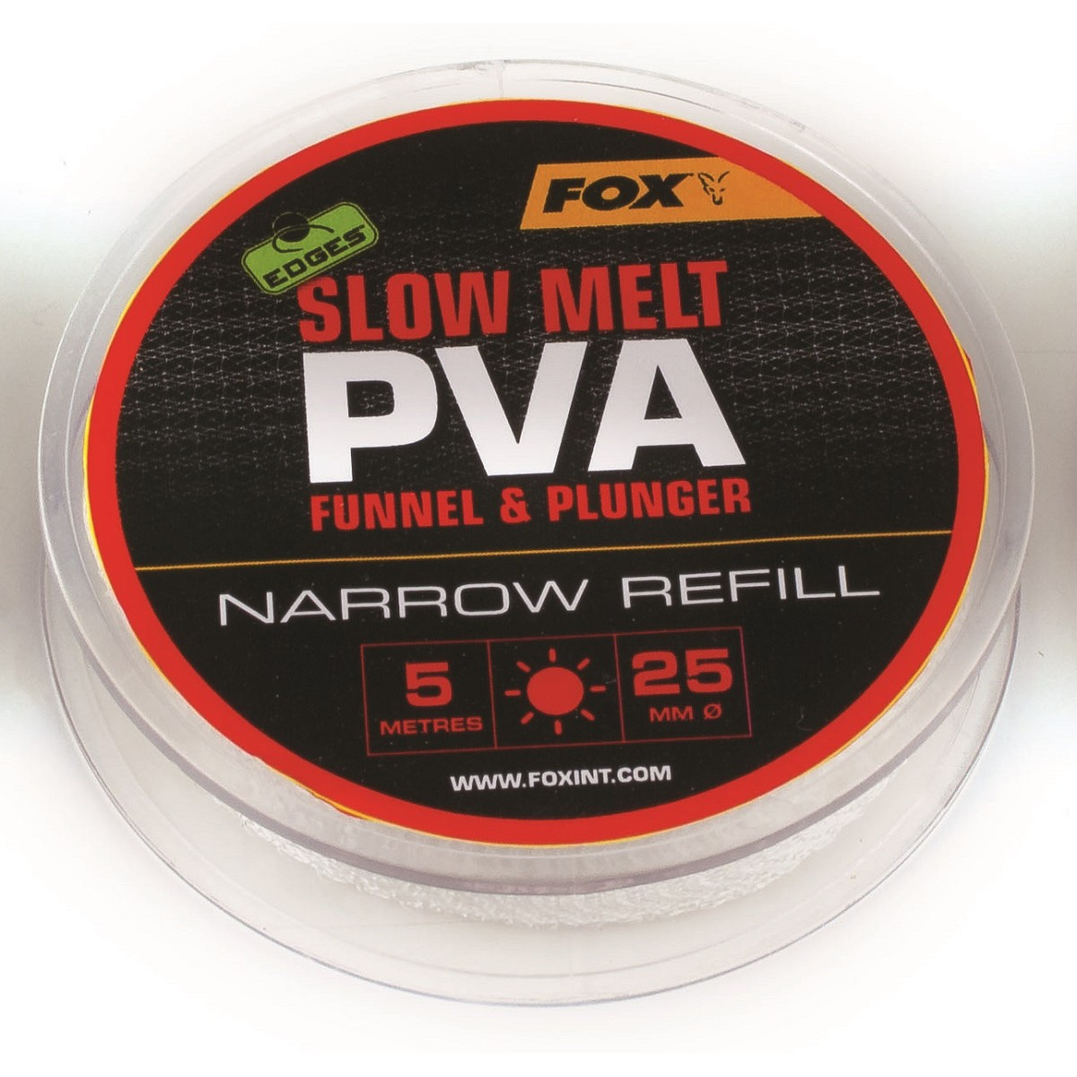 Fox Edges Slow Melt PVA Funnel & Plunger 25mm - PVA ръкав-ролка