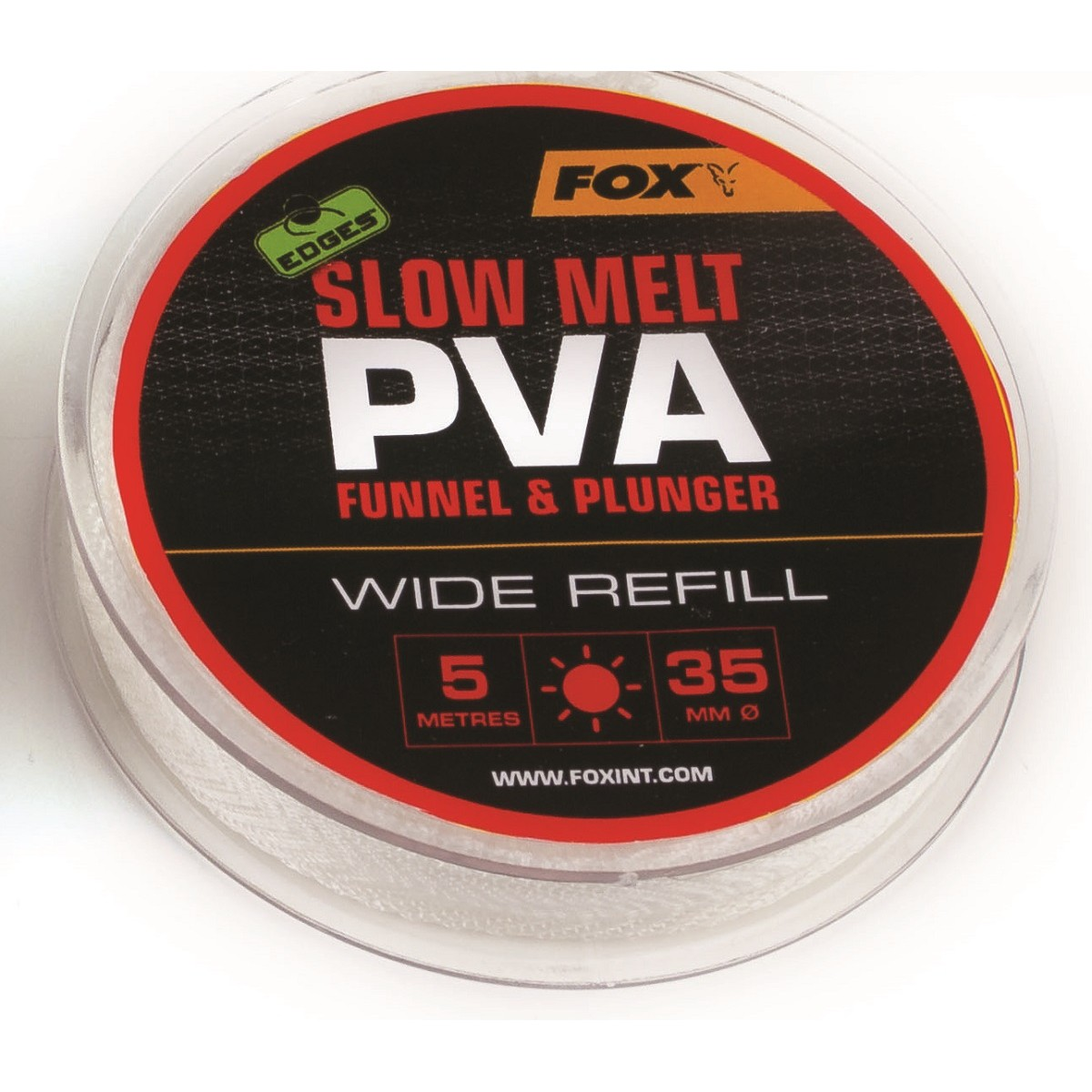 Fox Edges Slow Melt PVA Funnel & Plunger 35mm - PVA ръкав-ролка