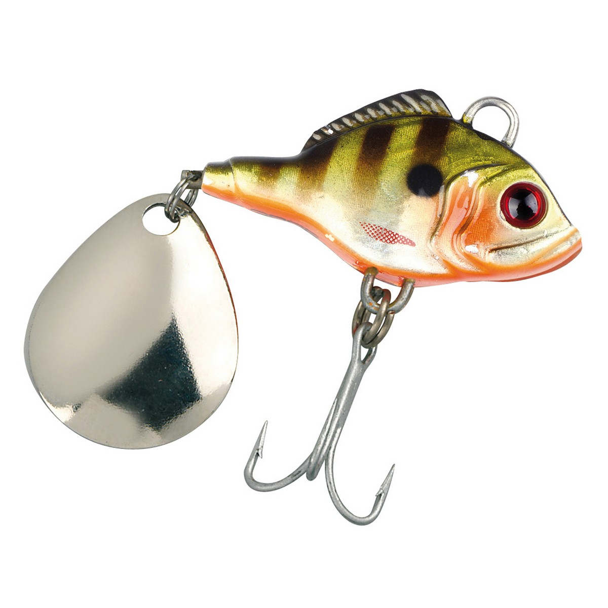 SPRO ASP Jiggin' Spinner Met. Perch