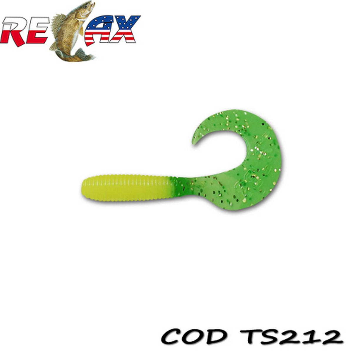 Силиконов туистер RELAX Twister 6 CM Standart