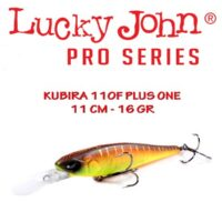 Воблер Lucky John Kubira Plus One 110F 11cm