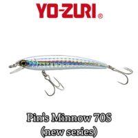 Воблер Yo-Zuri Pin's Minnow Sinking 70mm F1165
