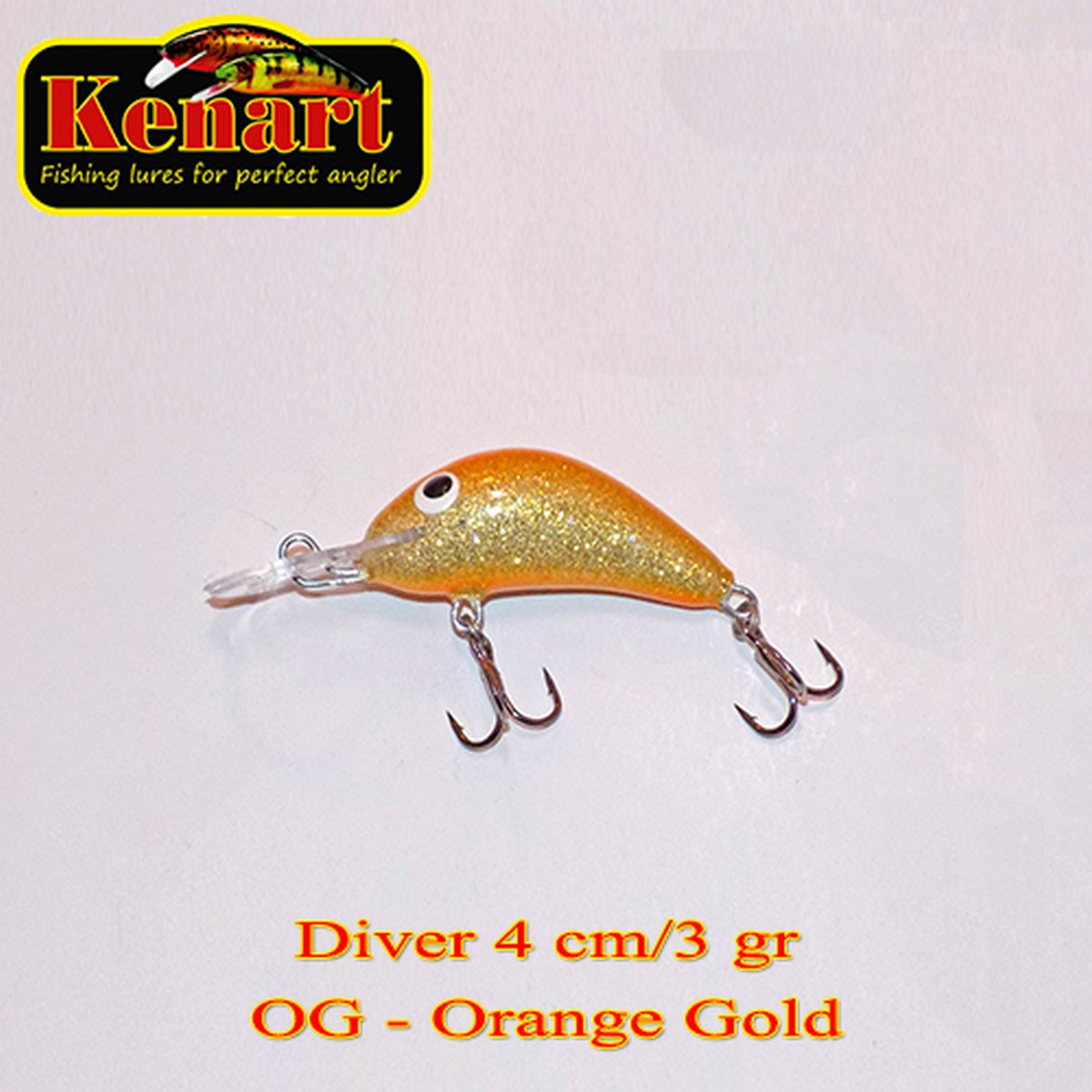 Воблер Kenart Diver Floating 4см