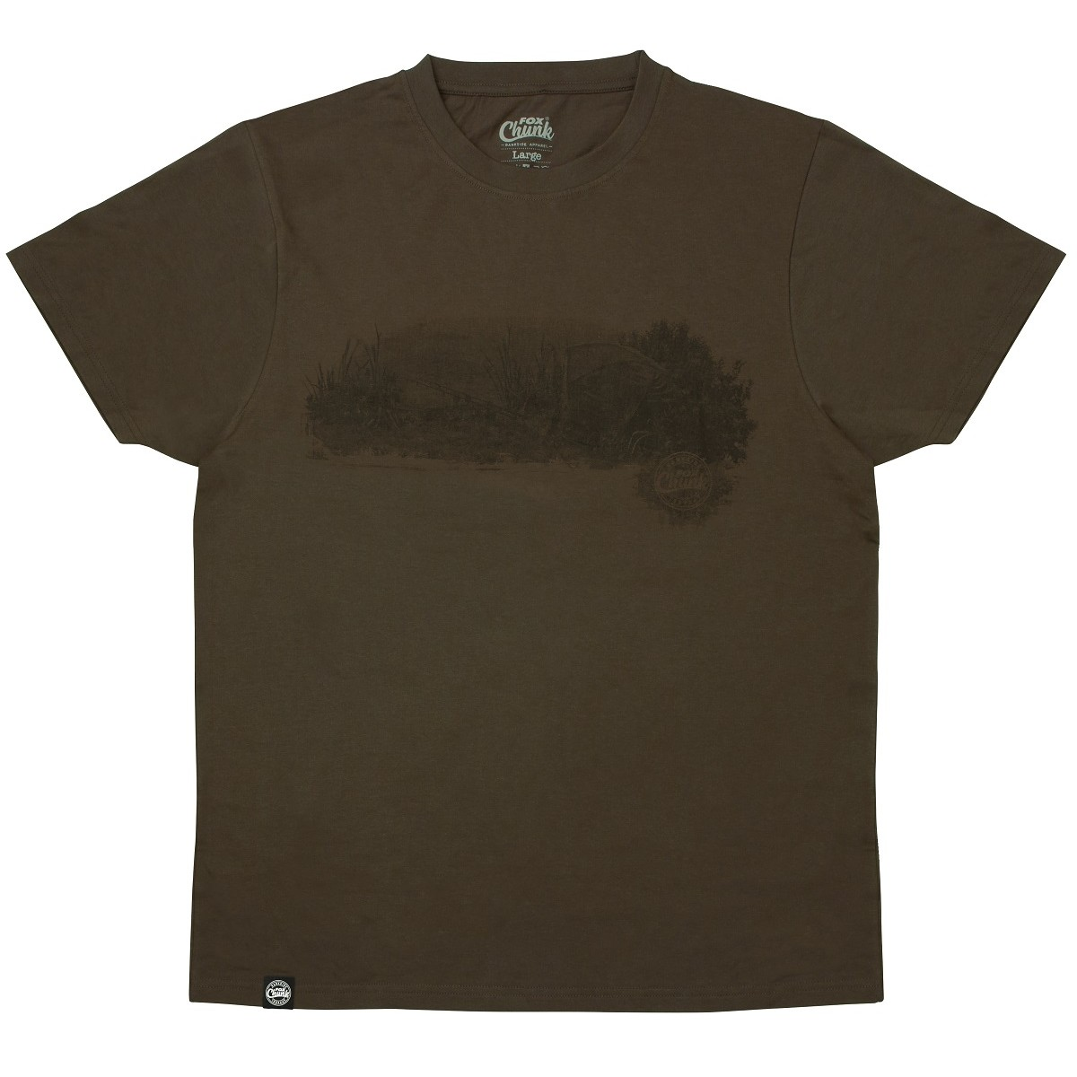 Тениска Fox Chunk Dark Khaki Scenic T-shirt