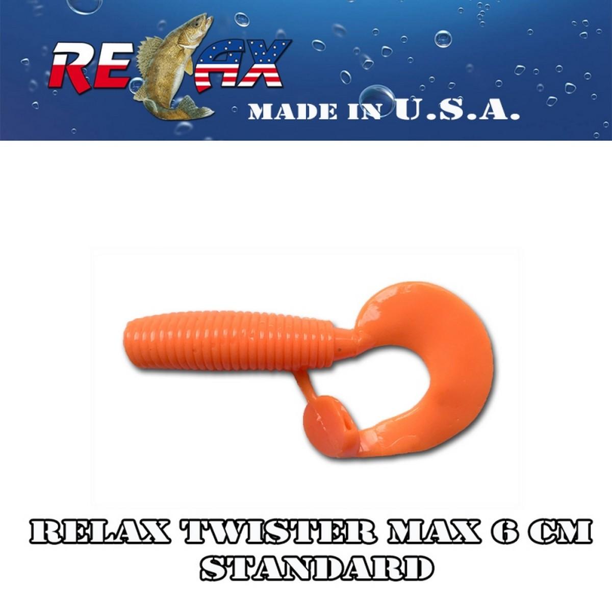 Силиконов туистер RELAX Twister MAX 6 CM Standart