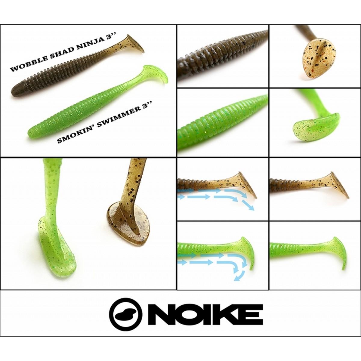 Силиконова примамка Noike Smokin' Swimmer 7.6cm