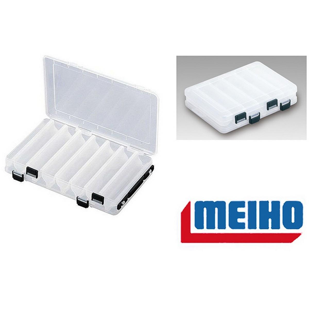Кутия двойна за воблери Meiho Reversible 165C