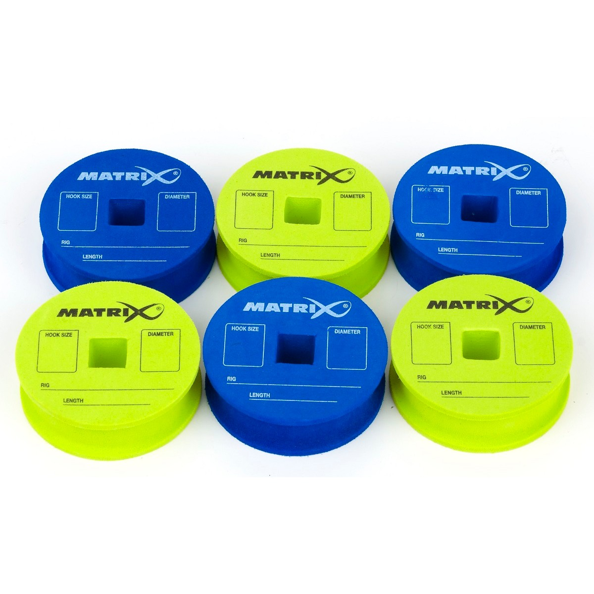 Matrix EVA Rig Discs & Pins x 6 - Зиг Риг дискове за съхранение