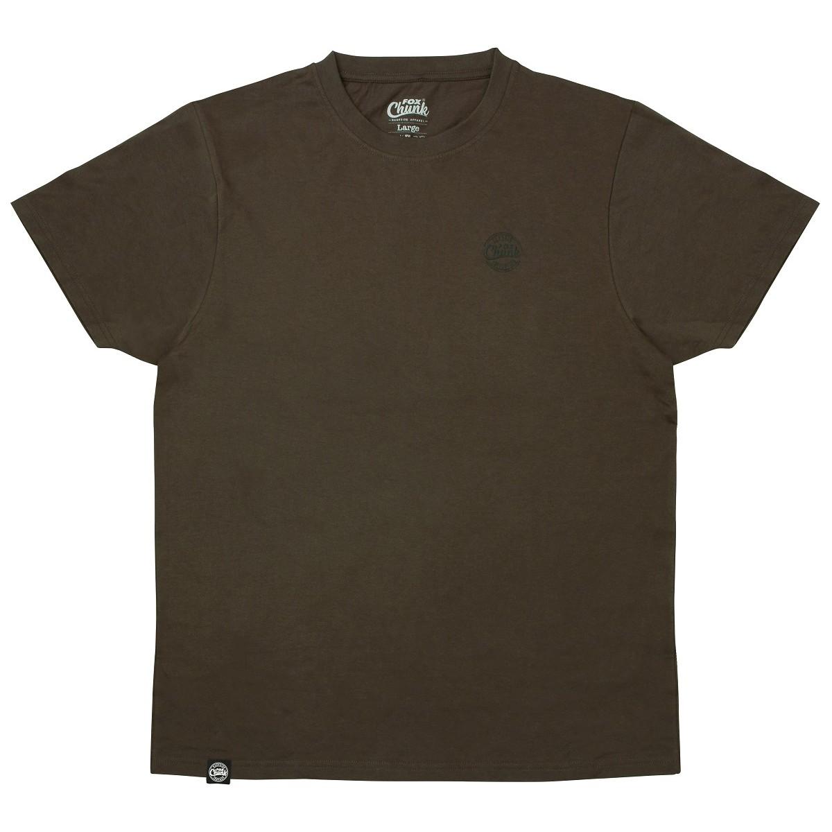 Тениска Fox Chunk Dark Khaki Classic T-shirt