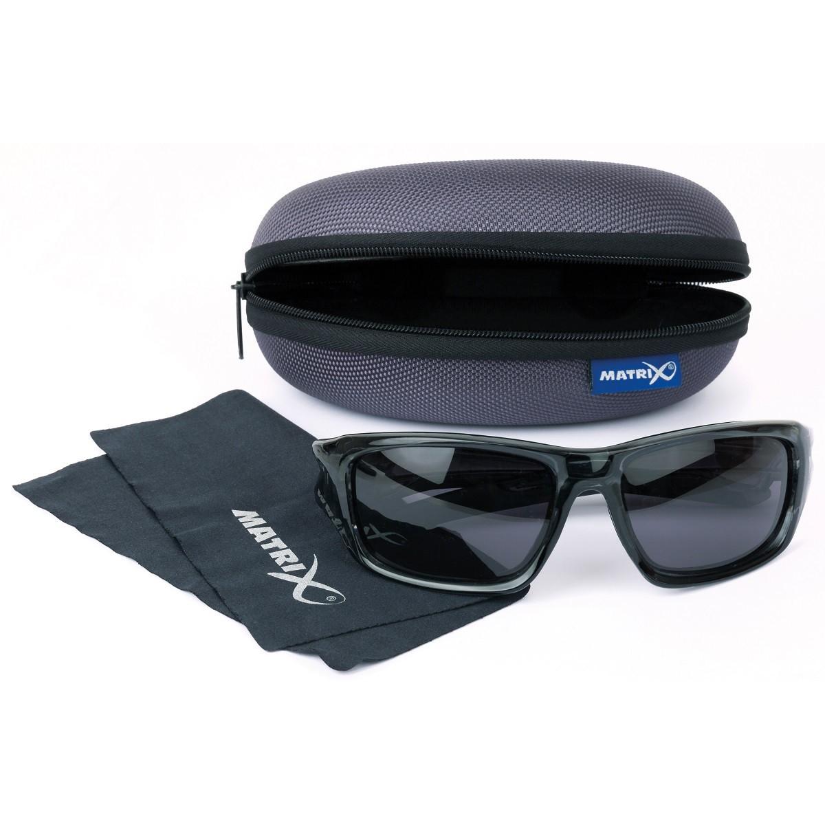 Очила Matrix Eyewear Trans Black Wraps/Grey Lense