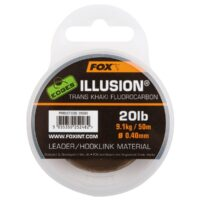 Fox EDGES Illusion Trans Khaki Fluorocarbon Leader 50m