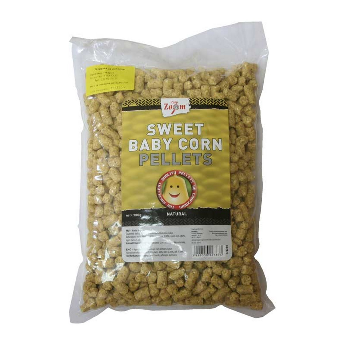 Пелети cz sweet baby corn pellets natural