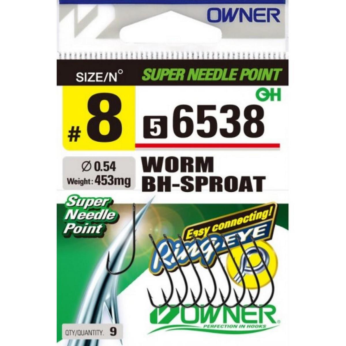 Куки Owner Worm BH Sproat 56538