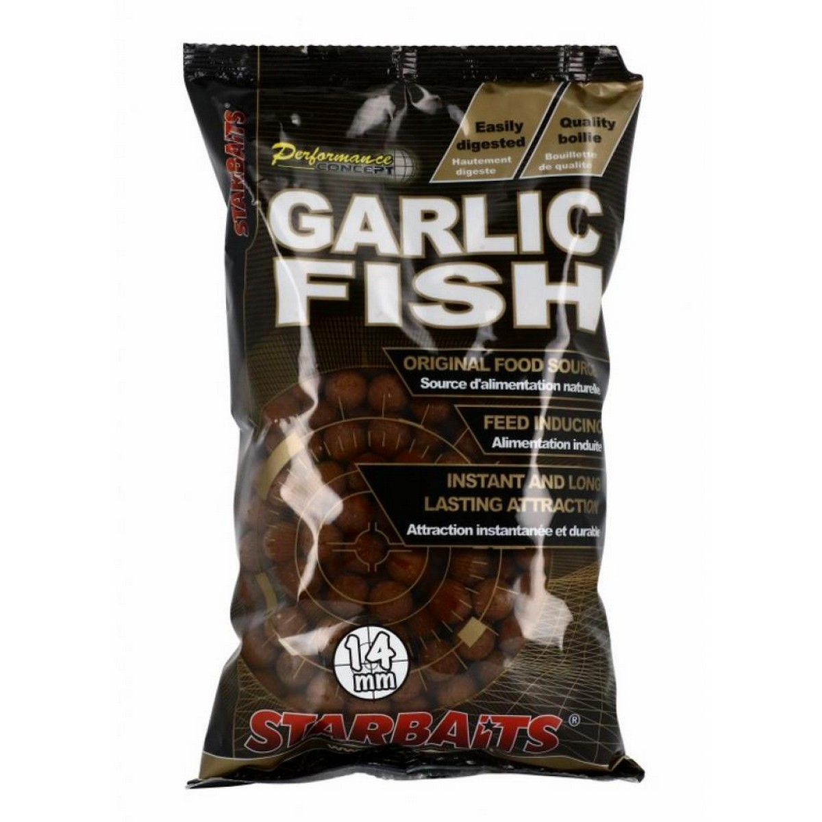 Протеинови топчета Starbaits Performance Concept Garlic Fish 1кг