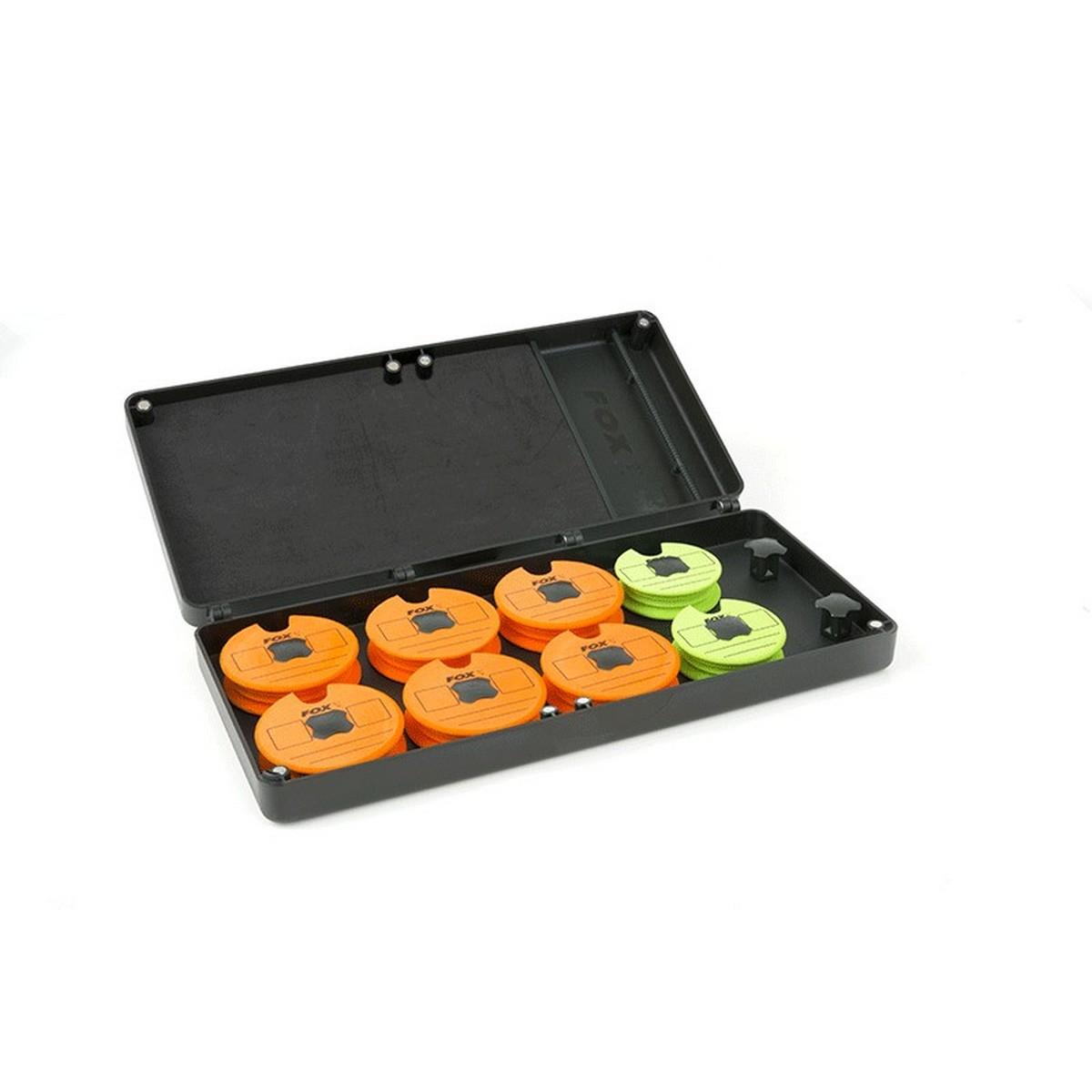 Кутия-класьор за поводи Fox F-Box Magnetic Disc & Rig Box System Medium