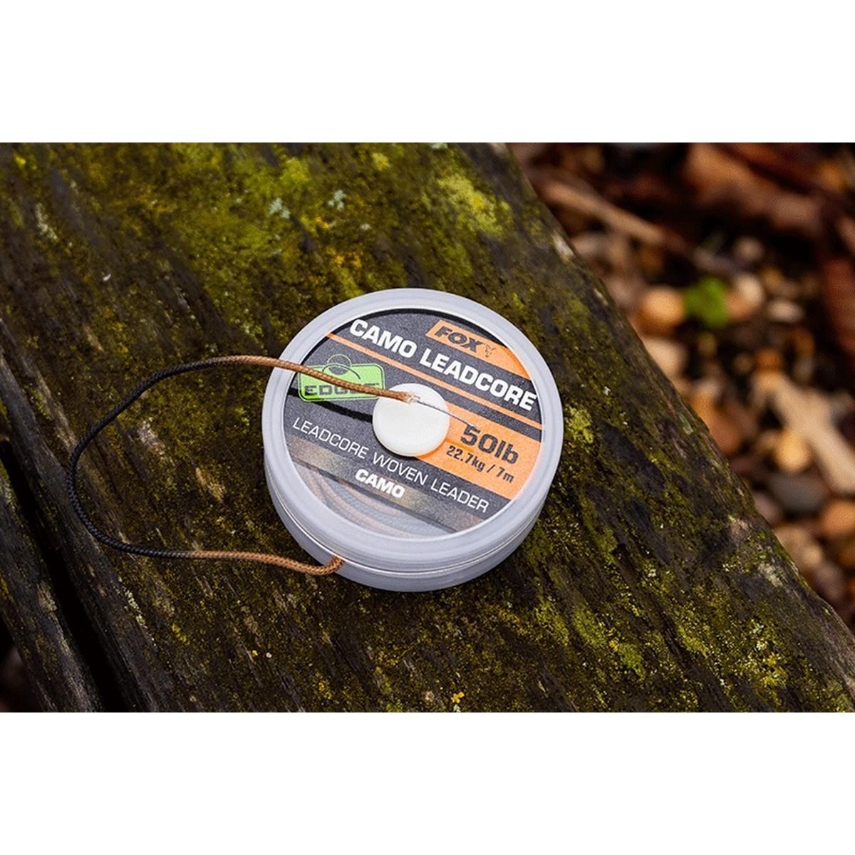Лидкор Fox Edges Camo Leadcore 50 lb