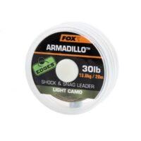 Плетено влакно Fox Edges Armadillo Shock and Snag Leader Light Camo 20м