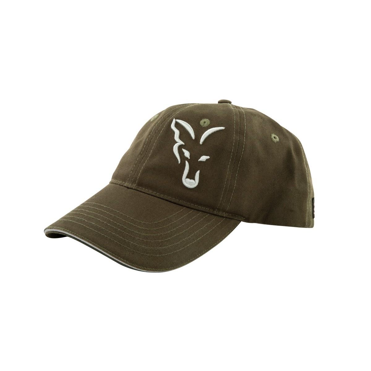 Шапка с козирка Fox Green & Silver Baseball Cap