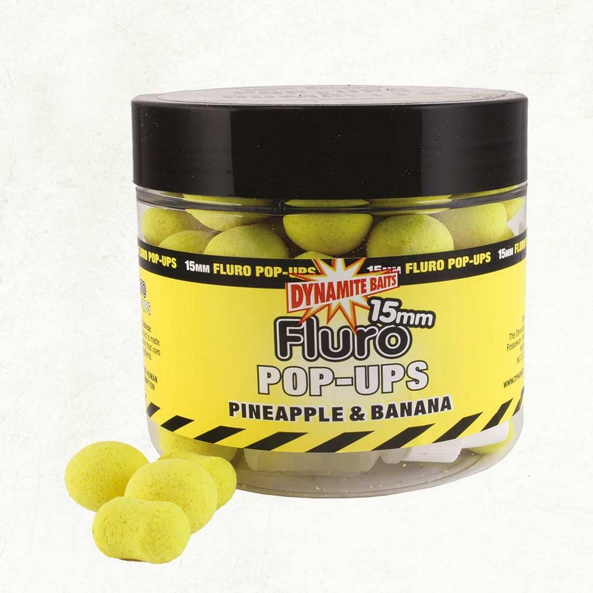 DB Fluro Pop-Ups Pineapple & Banana – плуващи топчета и дъмбели