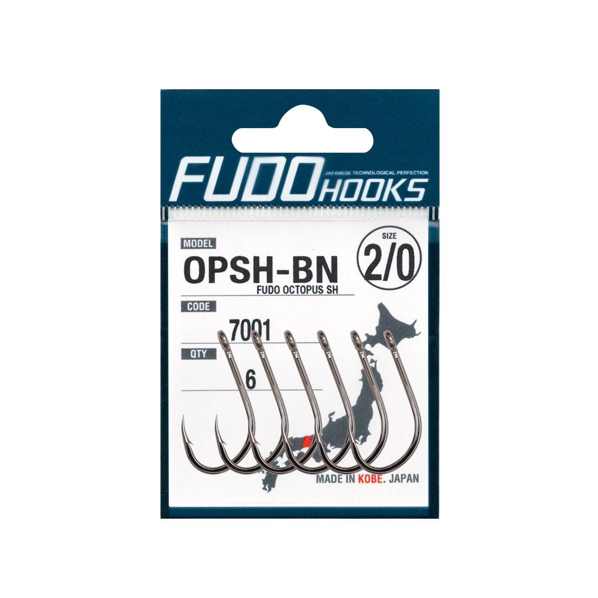 Куки за сом Fudo Octopus OPSH-BN - 7001