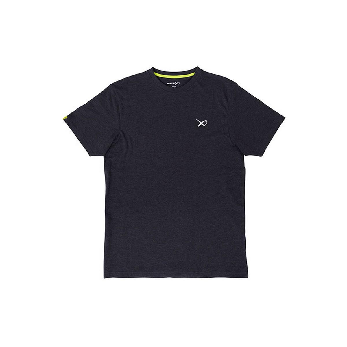 Тениска Matrix Minimal Black Marl T-Shirt