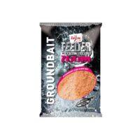 Захранка CZ Feeder Zoom Groundbait Strawberry-Fish-Robin Red