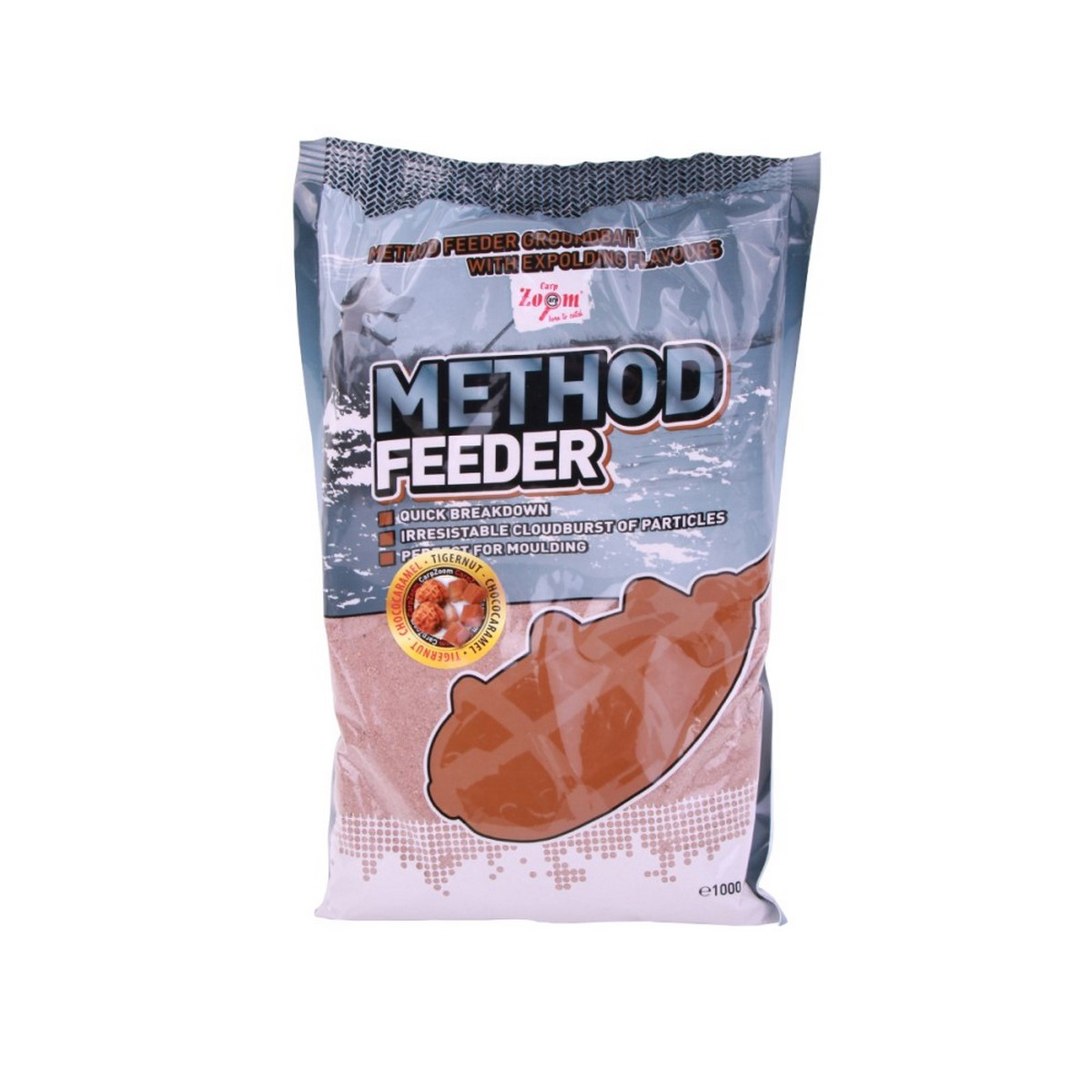 Захранка CZ Method Feeder Groundbait Tigernut Chococaramel