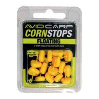 Изкуствена царевица стопер Avid Carp Corn Stops Long Yellow