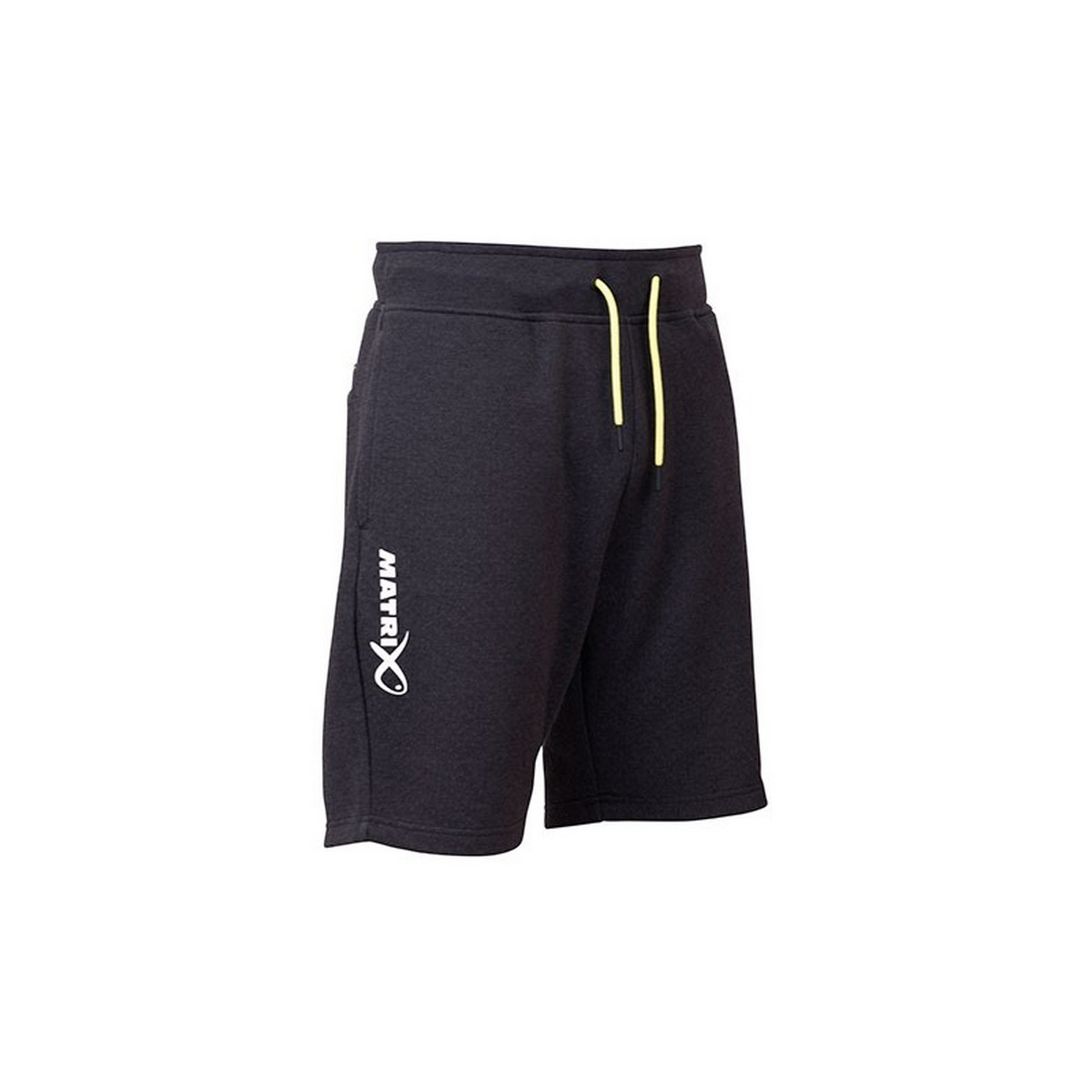 Къси панталони Matrix Minimal Black Marl Jogger Shorts