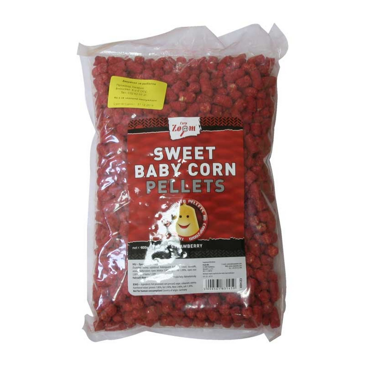 Пелети CZ Sweet Baby Corn Pellets Strawberry